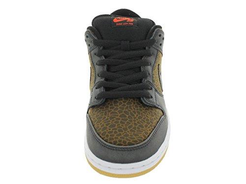 Nike Dunk Low Premium Sb Skate Shoe black, black, team orange
