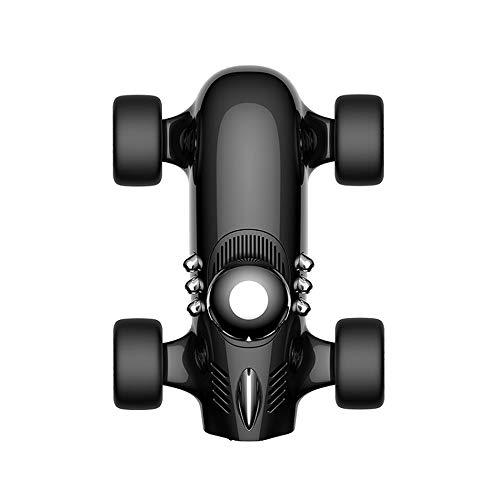 KOUYA Purificatore d'Aria, Racing Decorative Perfume Car Ossigeno ioni Negativi Diffusore Universale per Auto Casa e Altre Aree 10 Metri Quadrati Filtro Aria,Black
