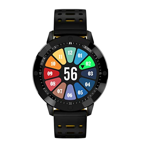 MYcM 3D dynamische Benutzeroberfläche Intelligente Armbanduhr, Sportuhren Fitness Uhr Groß Farbbildschirm Aktivitäts Uhr.-B -