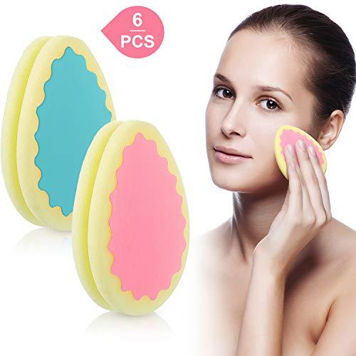 6 unidades depilación esponja Almohadillas depilación