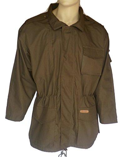 Herren Sommer Jagdjacke mit großer Rückentasche, robuste leichte Schießjacke und Outdoorjacke für Jagd, Angeln, Wandern, Hundesport, bequem geeschnitten, geräuscharm, Gr. 48-64, M-3XL