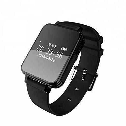 er Watch Sprachaktivierte Aufnahme Handgelenk Band 1536 Kbit/s Diktiergerät OLED Screen Recorder Mini Business 8 Gb A ()
