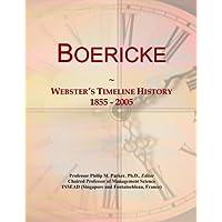 Boericke: Webster's Timeline History, 1855 -