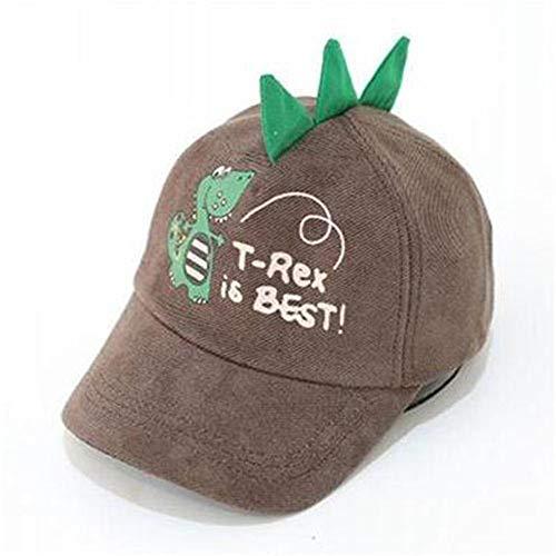 mlpnko Kinderbaseballmütze Kinderhut Mütze Hut 1-3 Jahre alt braun 1-3 Jahre - Cowboy Kostüm Für 1 Jahr Alt