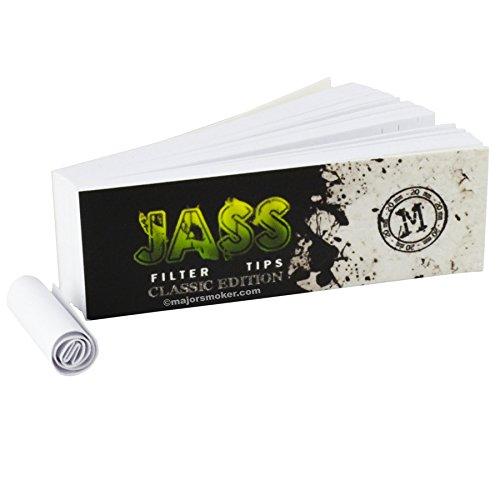 Jass Filter Tips Classic Edition 25 carnet de 50 Filtre - TAILLE M - 016