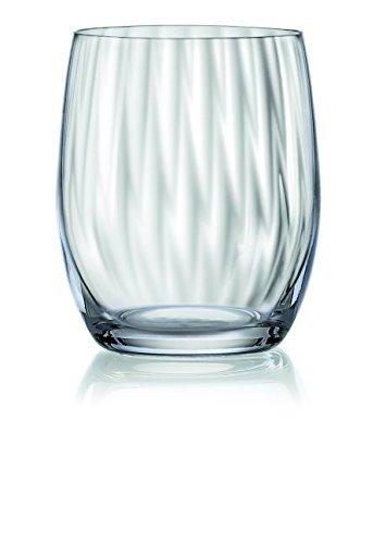 Waterfall - Bicchiere piccolo, in vetro soffiato,