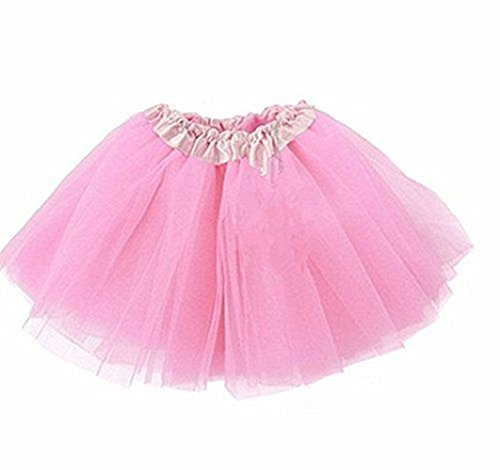 A LIITTLE TREE New Ladies Girls Women Tutu Skirts Dress Up Fancy Dress Party Hen Party (Pink) (Hen Party Kostüm London)