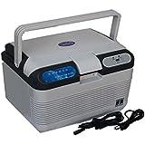 GosFrid 12L 12V & 48V Portable Car Thermoelectric Cooler/Warmer Electric Fridge Travel Refrigerator