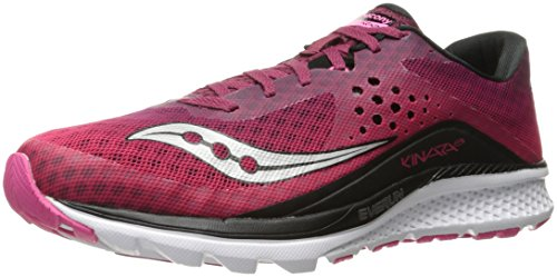 Saucony Kinvara 8, Scarpe Running Donna Rosso (Berry/pink 1)