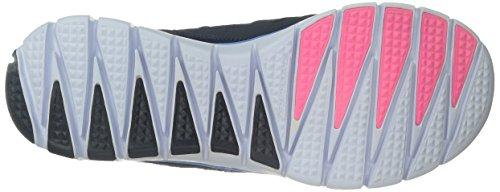 Skechers Skech-flexultimate Reality, Baskets Basses femme Navy Multi