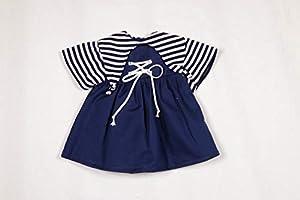 Sturm 8841-1 - Vestido para muñecas, Color Azul Marino