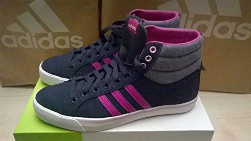 adidas Neo PARK ST MID W Grau Lila Wildleder Damen Mode Sneakers Schuhe Neu