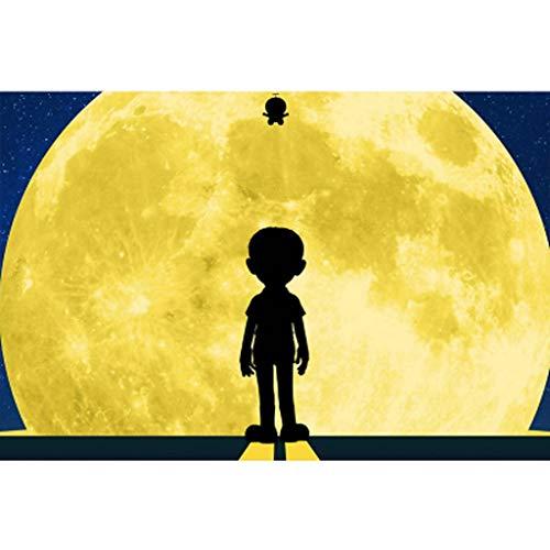 Doraemon Movie Poster japonés, Rompecabezas de Madera, Divertido Juguete Educativo con descompresión, Corte y Ajuste Fino, 300/500/1000 Piezas en Caja de Juguetes, Juegos de Arte para Adultos y niños