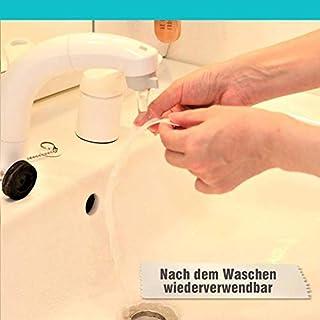 GenialbauTM Spurloses Waschbares Doppelseitiges Klebeband (3m)