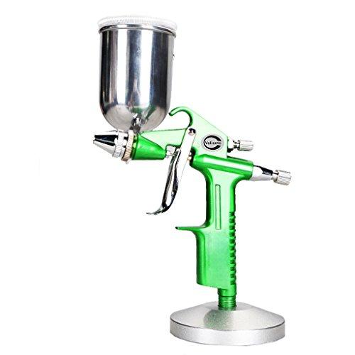 Preisvergleich Produktbild Valianto HVLP SpritzPistole Farbesprühsystem LackierPistole Silber mit 0.5mm Flat Düse