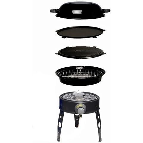 CADAC 6544F Safari Chef - Barbacoa de alta presión (sin bombona de gas)