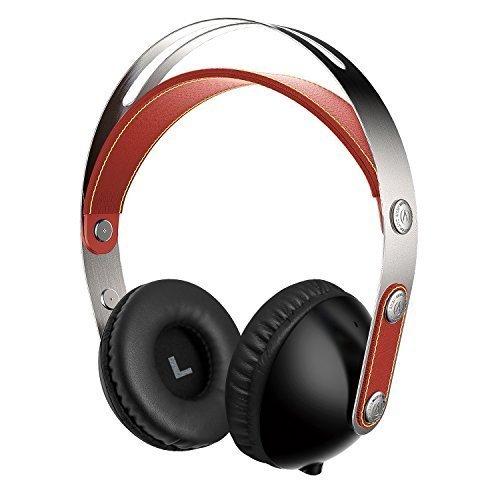 Suono Intone 2015 Recentemente WZ-01 Musica Hi-Fi cuffie stereo per bambini o adulti Facile bagagli con staccabile 3,5 millimetri cavo audio, leggero e portatile con Audio HD, compatibile con iPad, iPhone, Samsung, PC, laptop (Rosso)
