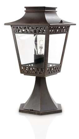 Philips luminaire extérieur borne Hedge Rouille