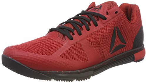Reebok speed tr, scarpe da fitness uomo, rosso (rich magma/black/primal red 000), 41 eu