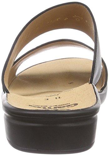 Ganter  SONNICA, Weite E, Claquettes mixte adulte Noir - Noir (0100)
