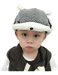 Cartoon Animal Bambini Ragazzi Ragazze Caldo Cappello Antivento Trapper  Cappello Soft Peluche Cappello con Orecchie Inverno aab2635c22ab