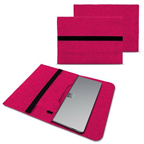 Odys Winbook 13 Sleeve Cover Hülle Tasche Notebook Filz Case Schutzhülle Laptop, Farben:Pink