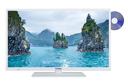 Telefunken XF32E411D-W 81 cm (32 Zoll) Fernseher (Full HD, Smart TV, Triple Tuner, DVD-Player) weiß