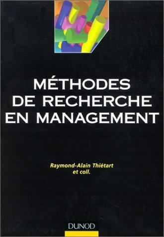 Mthodes de recherche en management