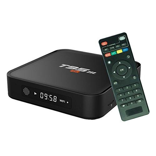 RtTech T95M 2GB+ 8GB [Aktualisierte Version] 4K Android TV Box Amlogic S905x Quad Core Android 6.0, 2GB RAM 8GB Flash, KODI(XMBC)16.1 mit Add-Ons vorinstalliert HDMI Unlock Streaming Media Player