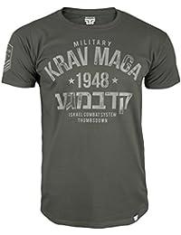Krav Maga T-shirt. Thumbs Down. Military Krav Maga. Israel Combat System. Martial Arts. MMA T-shirt