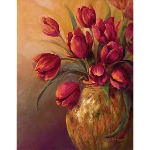 feelingathome-Impresi—n-artistica-Crimson-and-Brass-II-cm94x74-poster-lamina-para-cuadros