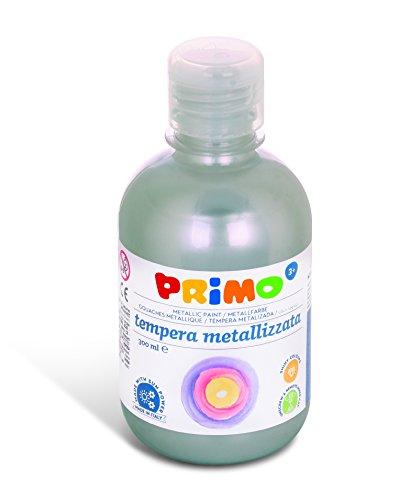 Primo 233TM300910 - Temperafarbe, 300 ml, silber/metallic