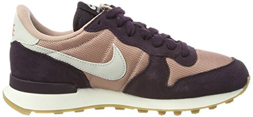 Nike Internationalist, Scarpe De Ginnastica Basse Donna Rose (particle Rose / Light Bone-port Vin-gomme Med)