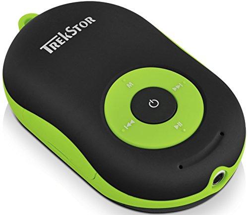 TREKSTOR i.Beat Soundboxx, multifunktioneller MP3-Player und Bluetooth-Aktivlautsprecher mit Freisprechfunktion in einem Gerät schwarz/grün