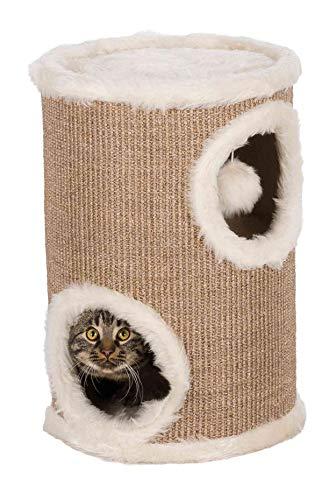 Produktabbildung von Trixie 4331 Cat Tower, ø 33 cm/50 cm, braun/beige