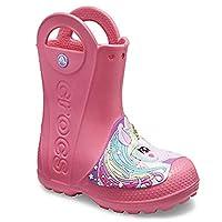 CROCS - Creature - RAIN Boots - Paradise Pink - Unicorn Wellington Boots