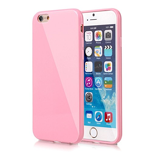 Yifeng Étui en silicone pour iPhone 6/6s, rose, iPhone 5/5s