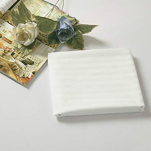 Bigherdez Komfortable 80 * 190 cm Beauty Massage Bettlaken Tragbaren Tisch Elastische Abdeckung Spa Couch Baumwolltuch Für Schönheitssalons - Weiß