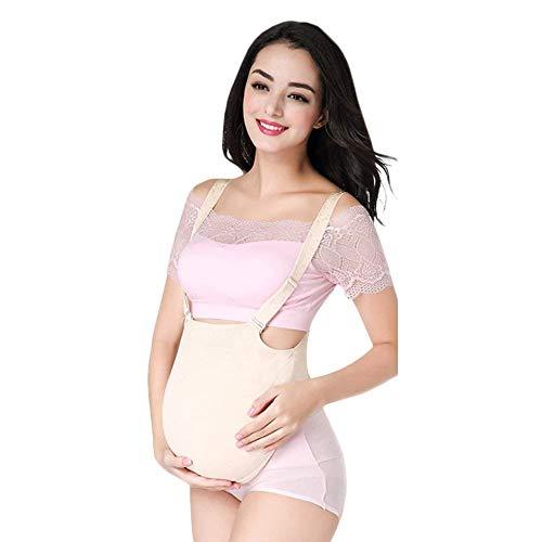 AMhuui Gefälschte schwangeren Bauch silikon, silikon falsche Baby Bauch Frauen neuheit kostüm zubehör für 3 Monate männer & Frauen,ClothBag,2to3month