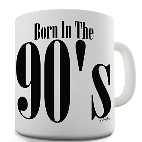 Born In The 90s Ceramic Novelty Gift Mug