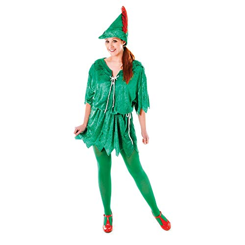 Mann Pan Peter Kostüm - Peter Pan Female costume Adult Fancy Dress