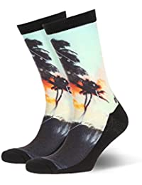 Quiksilver Printed High Socks Rainy Day