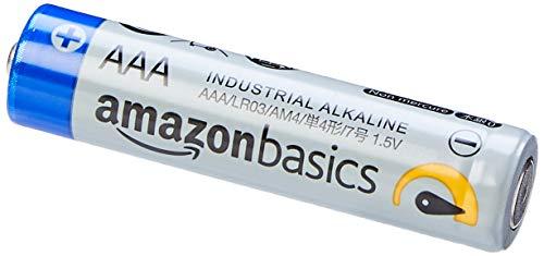 AmazonBasics -  Pilas alcalinas AAA de uso industrial (40 unidades)