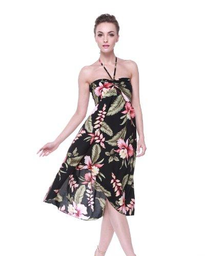Vestido-de-mariposa-hawaiana-para-mujer-Rafflesia-Negro