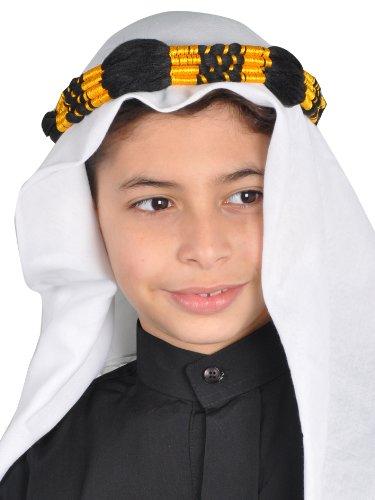 Egypt Bazar Traditionelle Arabische Kinder Kopfbedeckung Scheich - Araber Kopftuch- ()
