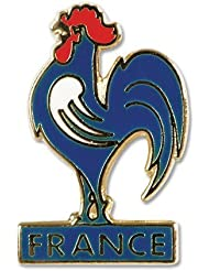 France Enamel Pin Badge - One Size