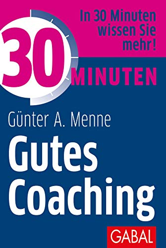 Buchcover 30 Minuten Gutes Coaching