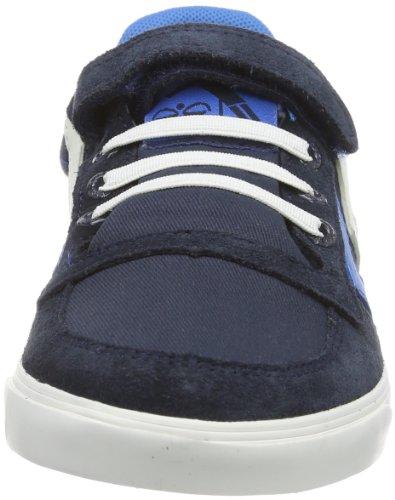 HUMMEL SLIMSTADIL JR CANVAS LW 63-626-8543, Unisex-Kinder Sneaker, Blau (LIMOGES BLUE), EU 26 Blau (BLUE NIGHTS)