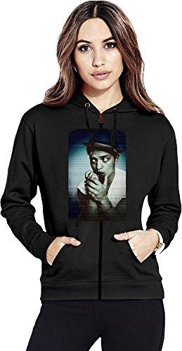 Bruno Mars Lovely Womens Zipper Hoodie Medium (Unorthodox Jukebox-vinyl)