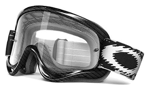 Oakley XS O Frame MX True Carbon Fiber l Clear